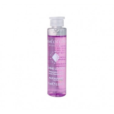 Ampola Rosa Shine Lotion Semi Di Lino Diamante Alfaparf - 15ml
