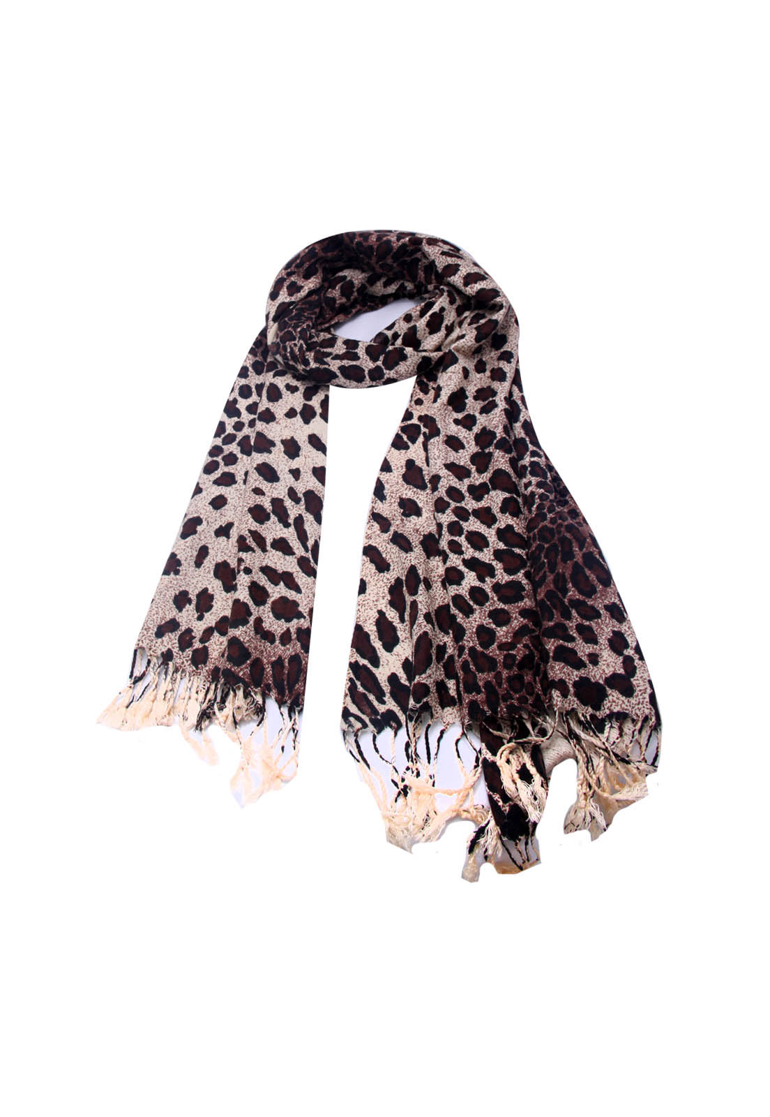 Pashmina Animal Print Off de Viscose (6701)