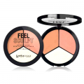 Feel Sculpt iluminador, blush e bronzer 01