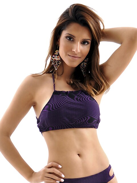 Biquini Top High Neck Mama Latina