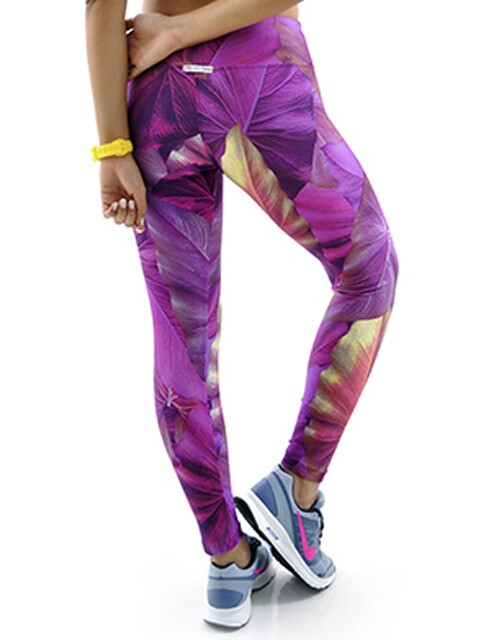 Calça Legging Estampada Jungle Mama Latina