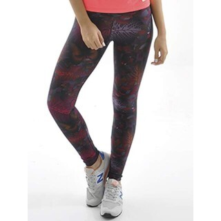Calça Legging Estampada Amazon Mama Latina