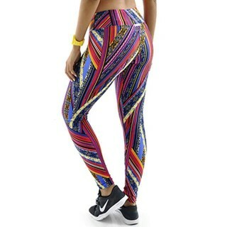 Calça Legging Estampada Exotic Mama Latina