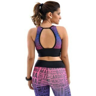 Calça Legging Sublimada Trainning Mama Latina