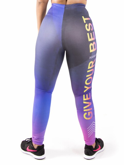 Calça Legging Sublimada Give Your Best