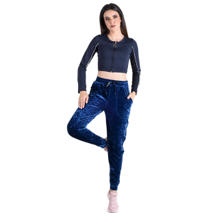 Top Cropped Manga Longa Paris