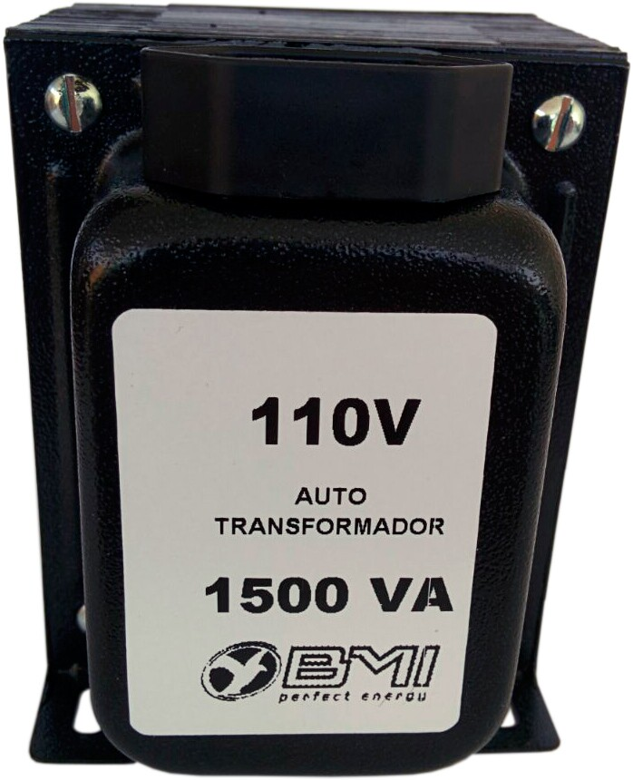 Auto Transformador BMI AT1500T21 1500va 220v P/ 110v