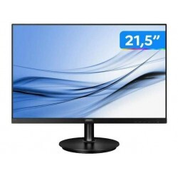 Monitor Philips LCD 21.5, Full HD, HDMI e VGA, Bordas Ultrafinas - 221V8