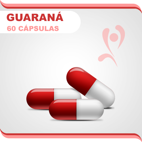 Guaraná 500mg - 60 cps