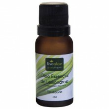 Óleo Essencial de Lemongrass Livealoe 12 ml
