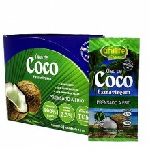 Display Óleo de Coco Sachê Unilife 15ml