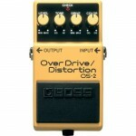 Pedal para Guitarra Boss OS2 Overdrive Distortion Boss