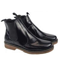 BOTA BLACK BOOTS BERLIN CHELSEA BRUSH OFF PRETO