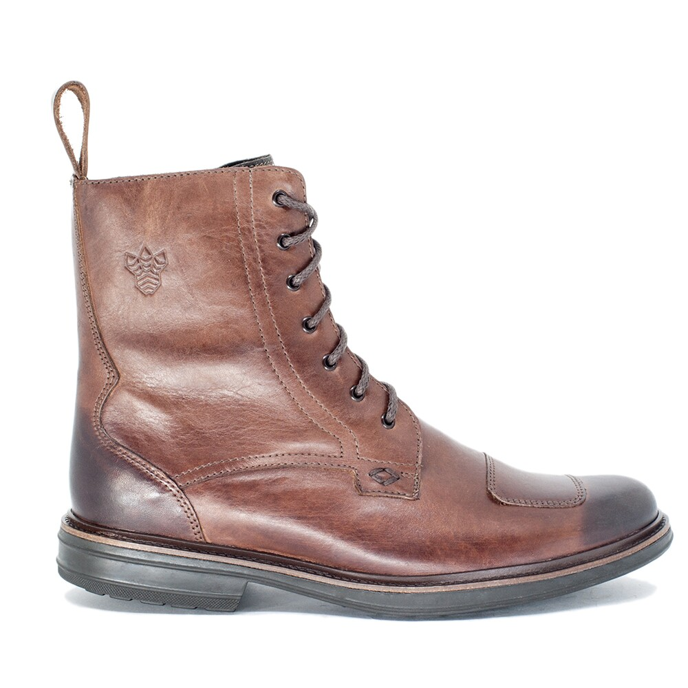 BOTA MASCULINA BLACK BOOTS CYCLE TOUCH COFFEE