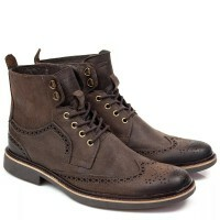 BOTA BROGUE BLACK BOOTS OXFORD VACUM CAFÉ