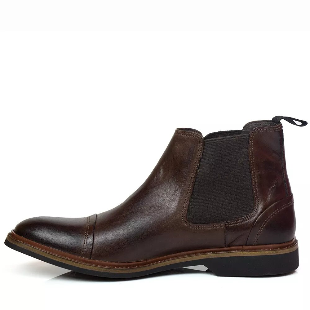 BOTA CHELSEA BLACK BOOTS VIRGINIA  MORO