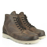 BOTA BLACK BOOTS MOC TOE GRAXO CAFE