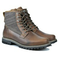 BOTA BLACK BOOTS LOGAN  CRAZY CONHAQUE