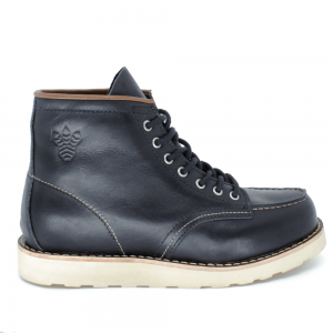 BOTA BLACK BOOTS MOC TOE WC LATEGO PRETO/ WHISKY