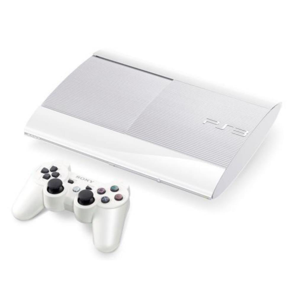 Console Playstation 3 Ps3 Super Slim Novo Modelo 500GB Branco - Sony