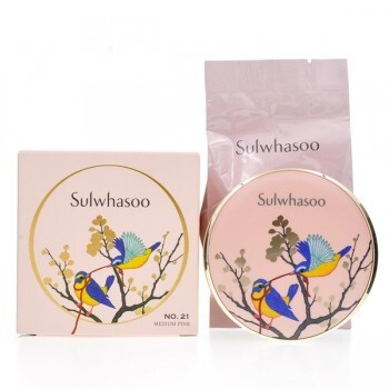 [Sulwhasoo]  Perfecting Cushion SPF50/PA+++ - Edição Limitada - medium pink- #21