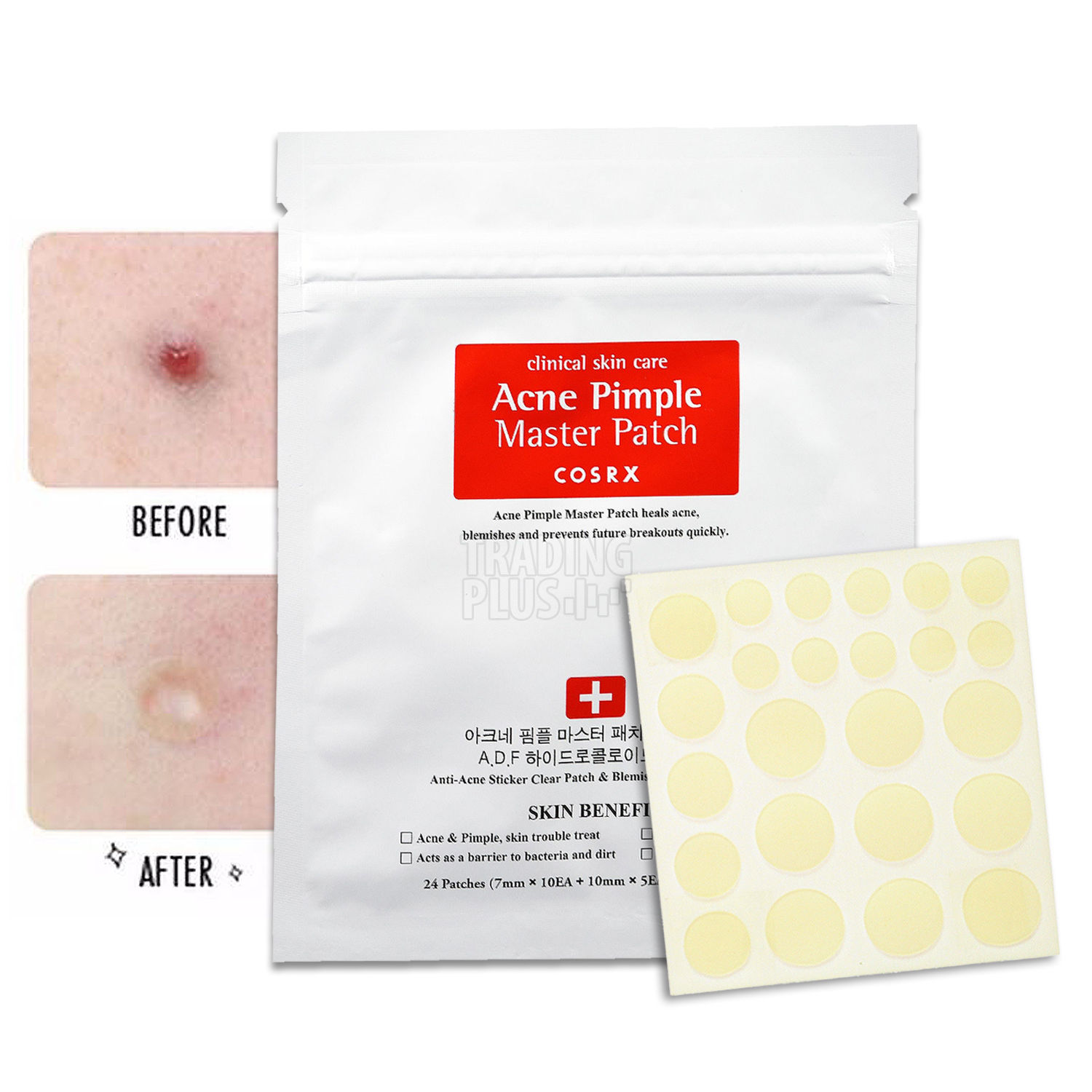 [COSRX] Acne Pimple Master Patch 1 pack (24pcs)