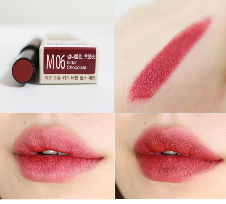 [THESAEM] Eco Soul Kiss Button Lips Matte - 2g  #M06