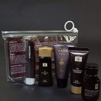 [Amore Pacific RYO ]Hwayoonsaeng Shampoo Pack Toothpaste Body Trial Set Travel Kit Travel Smart Essential Beauty Hair and Body Kit