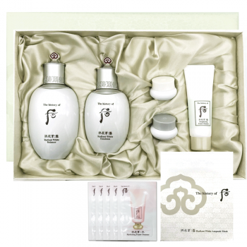 [ The History of Whoo ] Gongjinhyang Seol Radiant White 2pcs Special Set