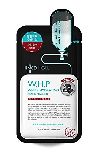 [MEDIHEAL]  W.H.P White Hydrating Charcoal-Mineral Mask 25ml