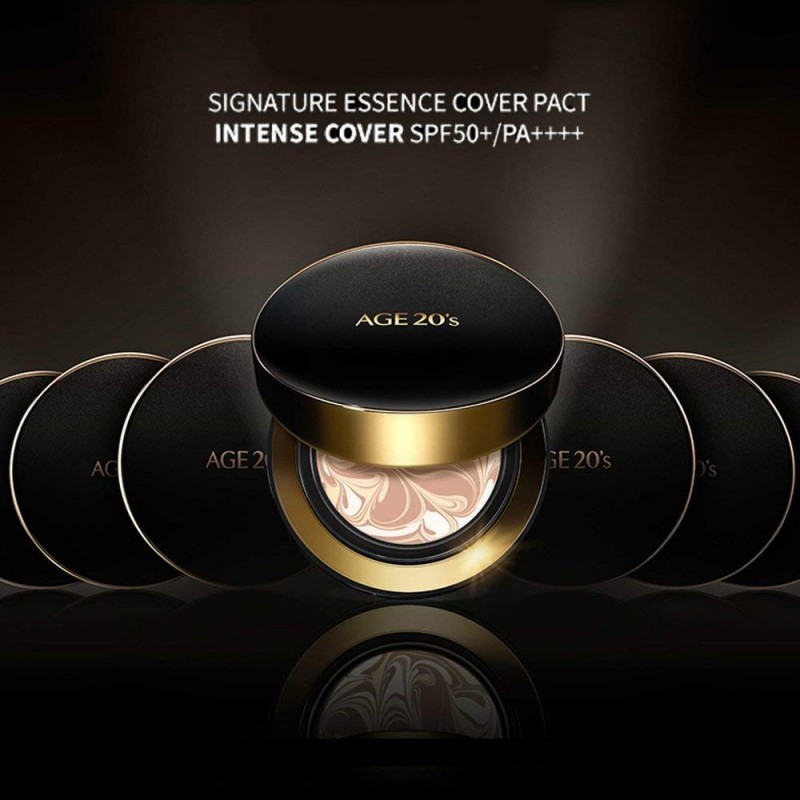 [AGE20s] Signature Essence Cover Pact (Intense #21) SPF50+ / PA++++