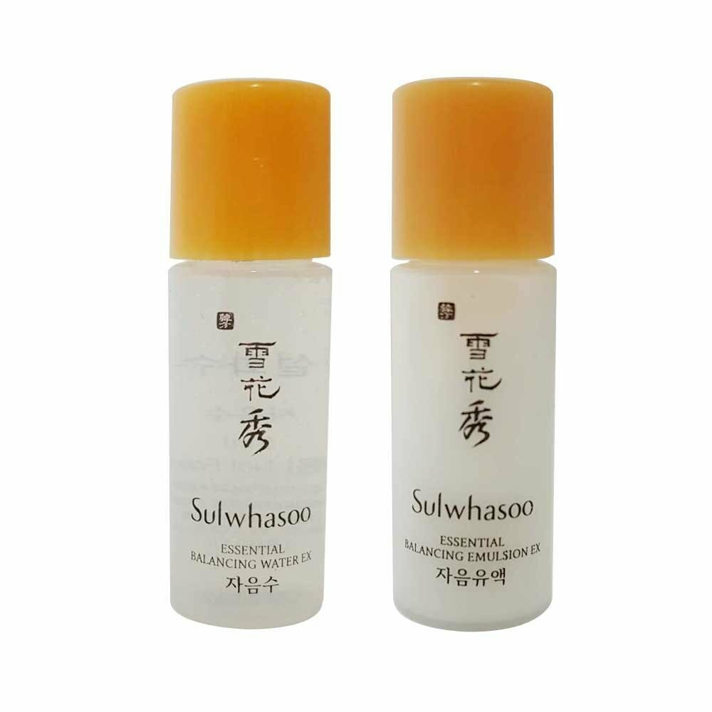 [Sulwhasoo]  Essential Balancing Water EX 5ml + Essential Balancing Emulsion EX 5ml