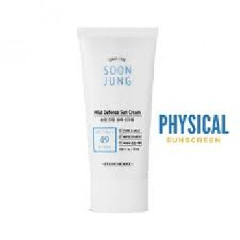 Etude House Soon Jung Mild Defense Sun Cream SPF49 PA++