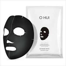 O HUI - Extreme White 3D Black Mask- 1pc