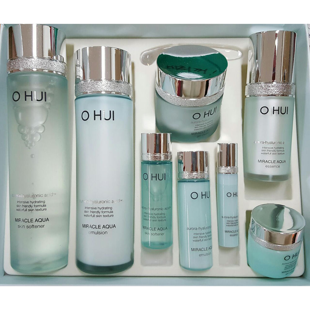 [ O HUI ] Miracle Aqua Basic Special Gift Set 4 Items