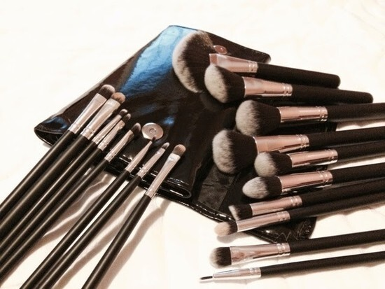 Kit 18 pincéis Vegan Brush Set
