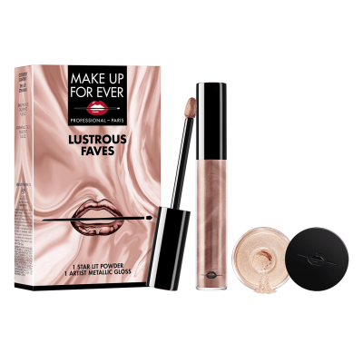 Kit Lustrous Faves MAKE UP FOR EVER