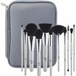 Kit de pincéis Silver 11 Piece Brush Collection