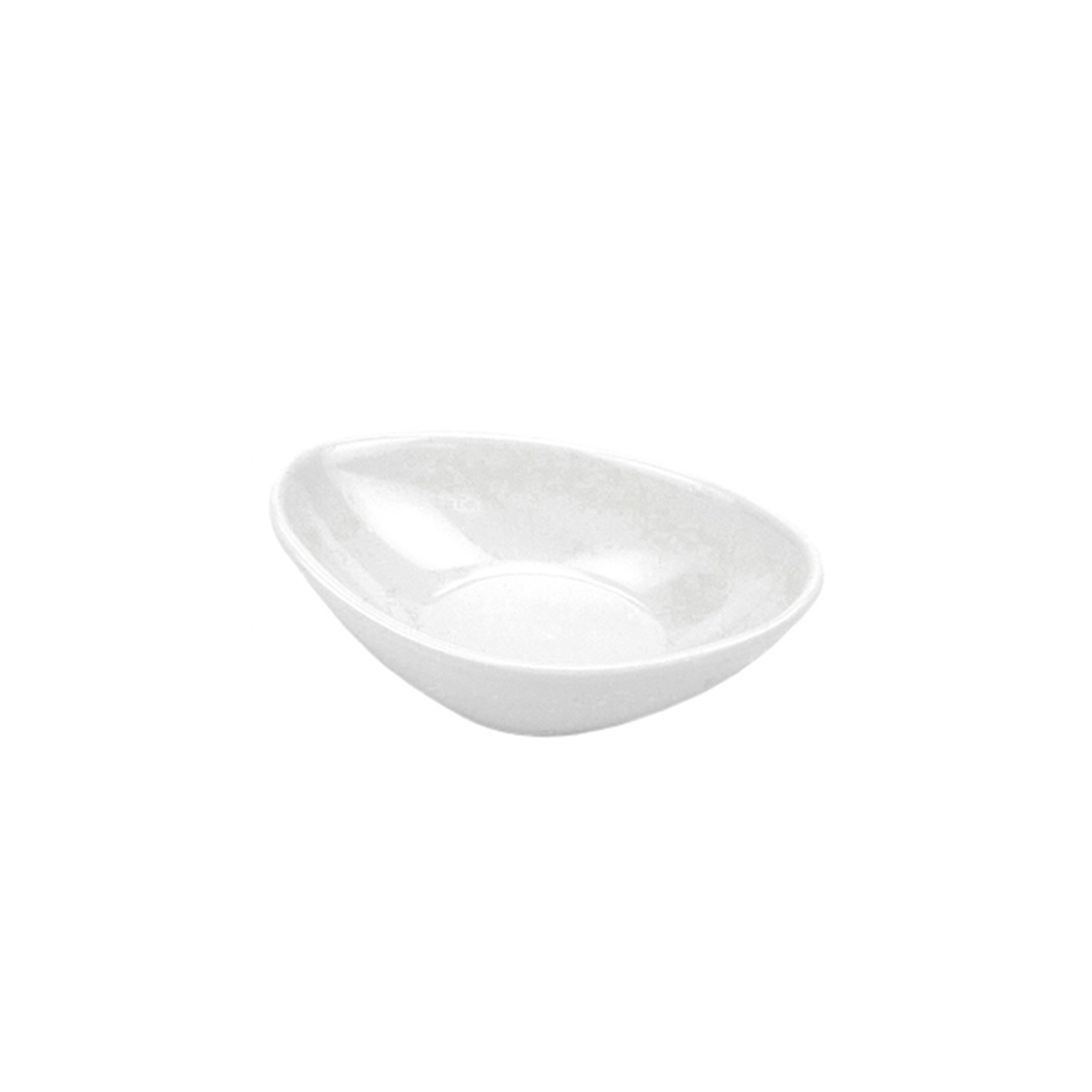 Finger Food Oval Melamina Prof. 9.8x6.2cm - Marca Mix
