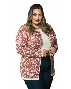 Twin set em tricot Plus Size Jacquard