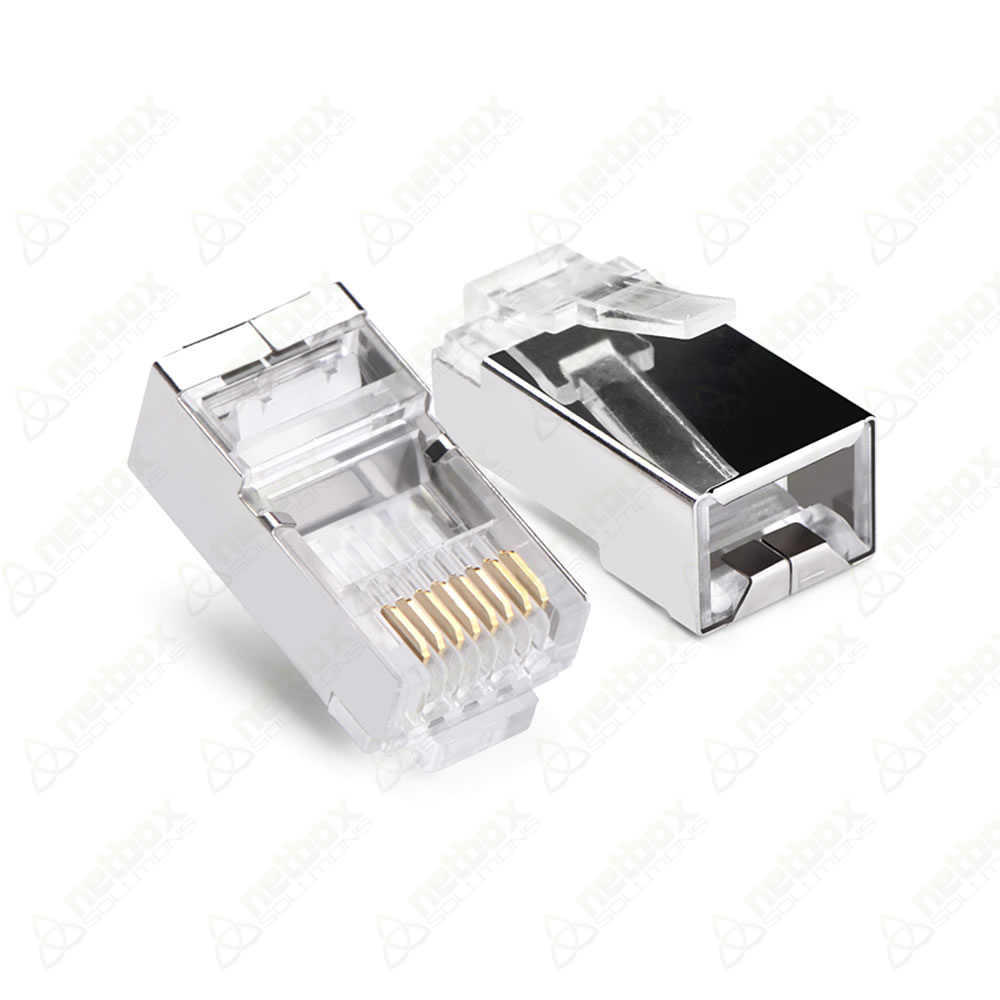 Conector RJ45 Macho Blindado Cat.5e