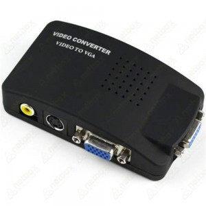 Conversor TV/PC de Video Composto para RCA/VGA - TVPC