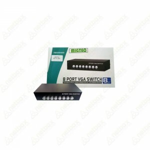 Chaveador Switch Vga P/8 Monitores Wide