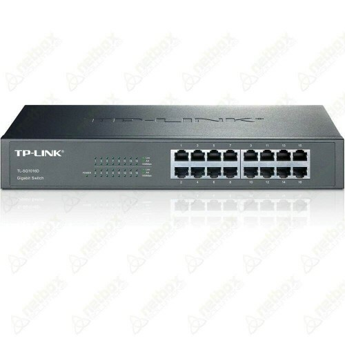 Switch de 16 portas 10/100/1000Mbps TL-SG1016D