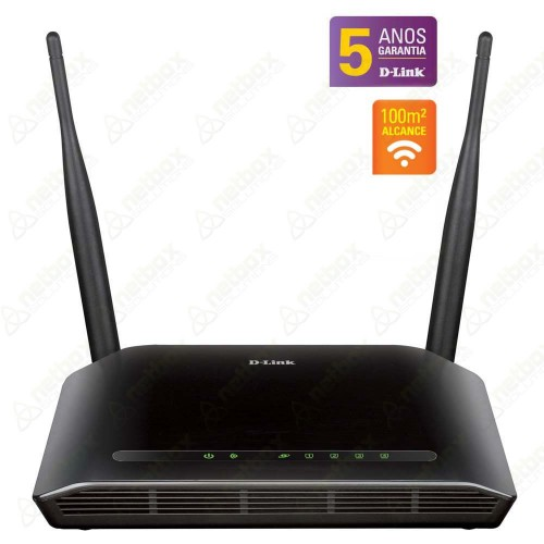 ROTEADOR WIRELESS N 300Mbps D-link DIR-615