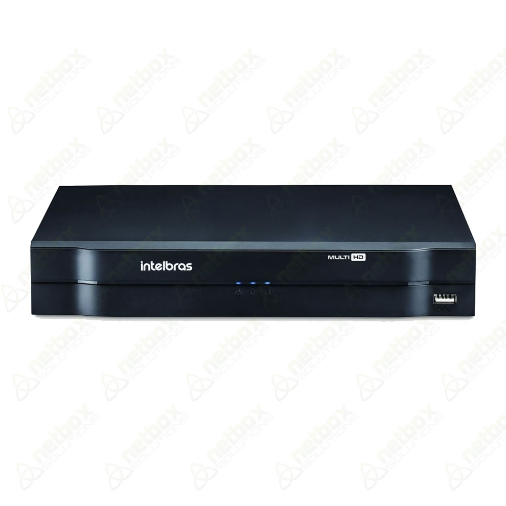 DVR Stand Alone com 04 canais Multi HD MHDX 1004 Intelbras