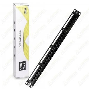 Patch Panel CAT5e 24P Standard SOHO PLUS