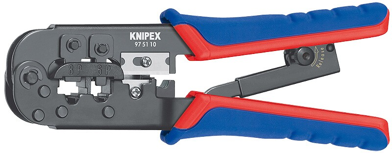 Alicate Crimp para Fichas Western 190 mm - Knipex 97 51 10