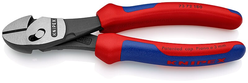 73 72 180 KNIPEX TwinForce® Alicate Corte Diagonal 7