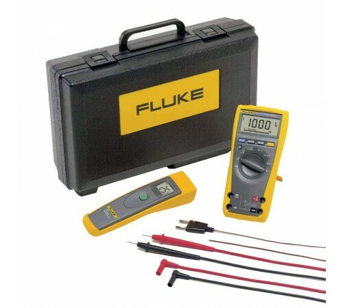 Combo Kit Multímetro Digital e Termômetro Industrial - Fluke 179